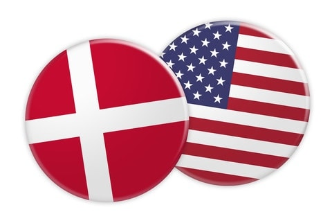 Danmark USA knapper