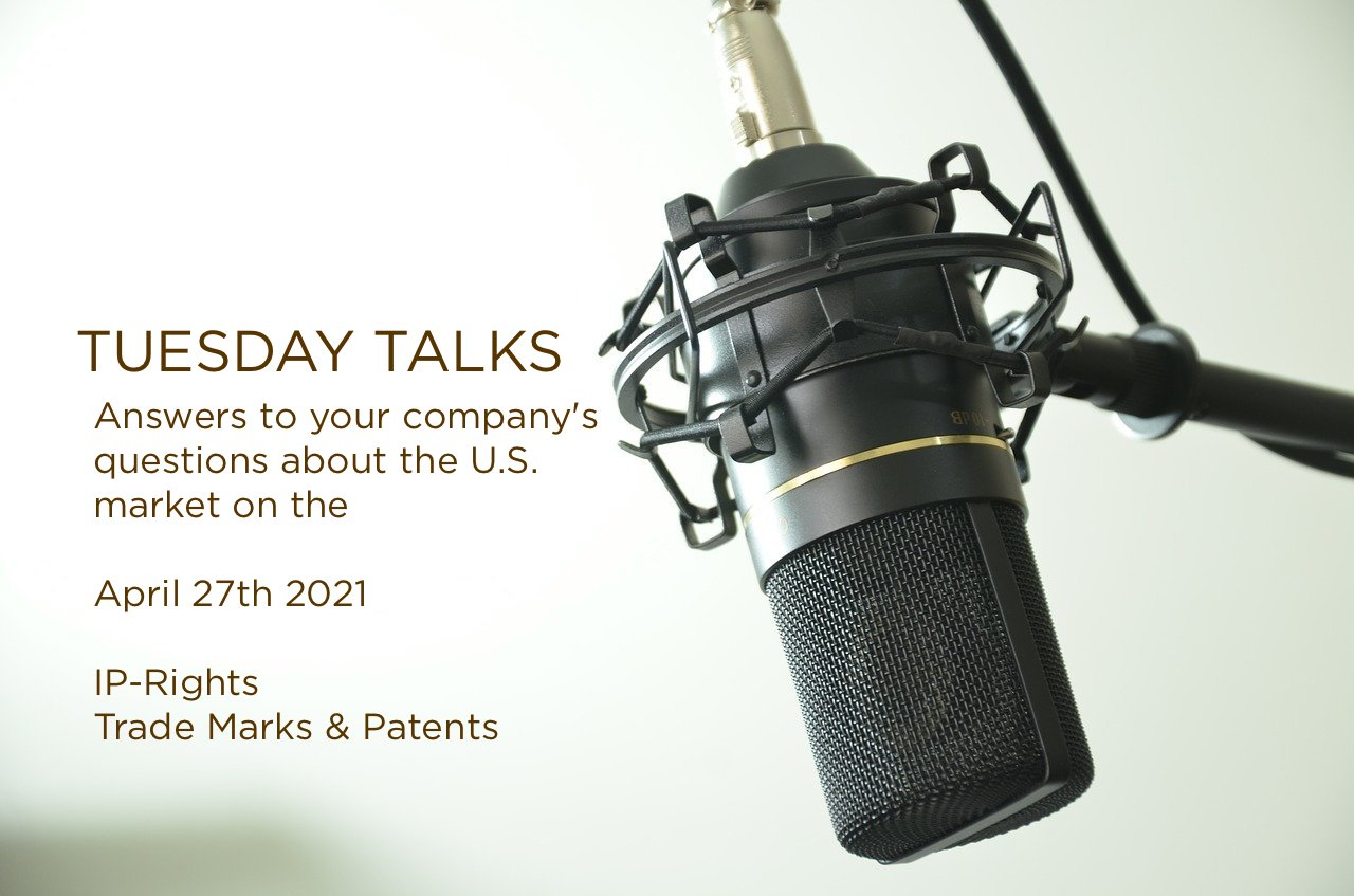 Tuesday Talks – IP Rettigheder