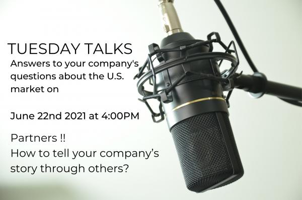 Tuesday Talks – Hvordan sælger du gennem andre i USA